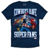 The Marvel/Dallas Cowboys Super Fans T-Shirt in Navy