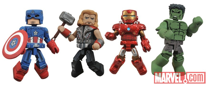 Marvel Minimates Avengers movie/Wave 45 from Diamond Select Toys