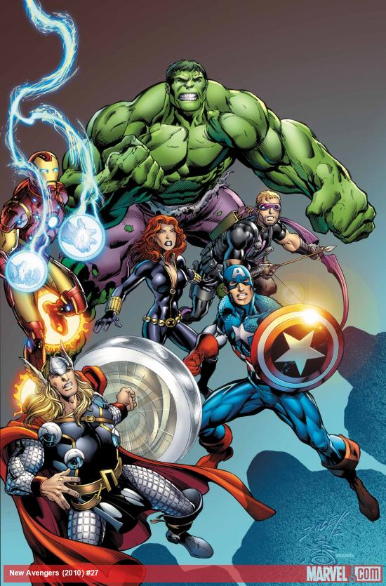 New Avengers #27 cover art by Mike Deodato
