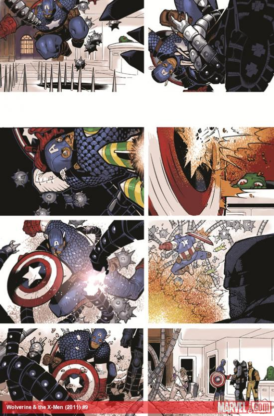 Wolverine & The X-Men #9 preview art by Chris Bachalo