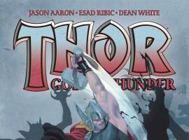 Thor: God of Thunder #3 cover by Esad Ribic