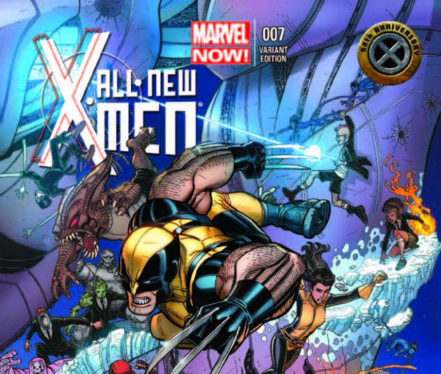 ALL-NEW X-MEN 7 BRADSHAW X-MEN 50TH ANNIVERSARY VARIANT