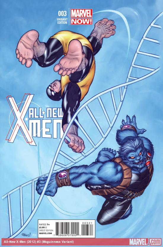 cover from All-New X-Men (2012) #3 (TBD ARTIST VARIANT)