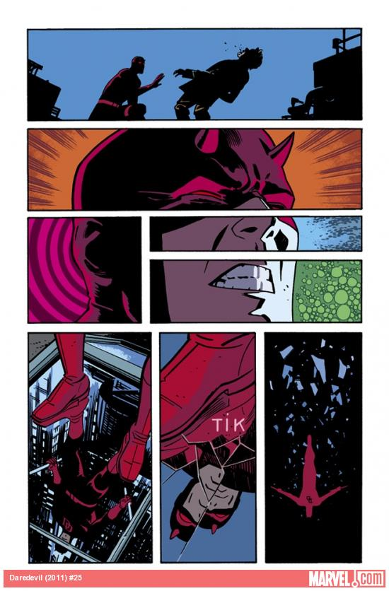 Daredevil (2011) #25 preview art by Chris Samnee