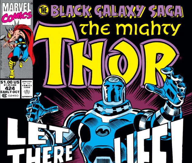 Thor (1966) #424 Cover
