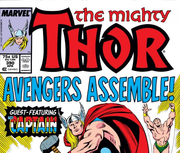 Thor (1966) #390 Cover