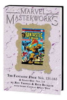 MARVEL MASTERWORKS: THE FANTASTIC FOUR VOL. 15 HC VARIANT (DM ONLY) (Hardcover)