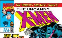 Uncanny X-Men (1963) #349 Cover