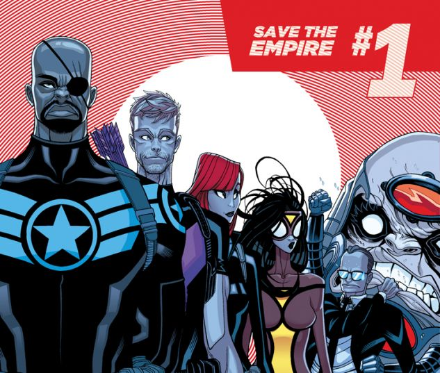 SECRET AVENGERS 1 (ANMN, WITH DIGITAL CODE)