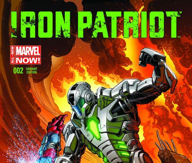 Iron Patriot Comic Iron Patriot 2 Bennett Variant