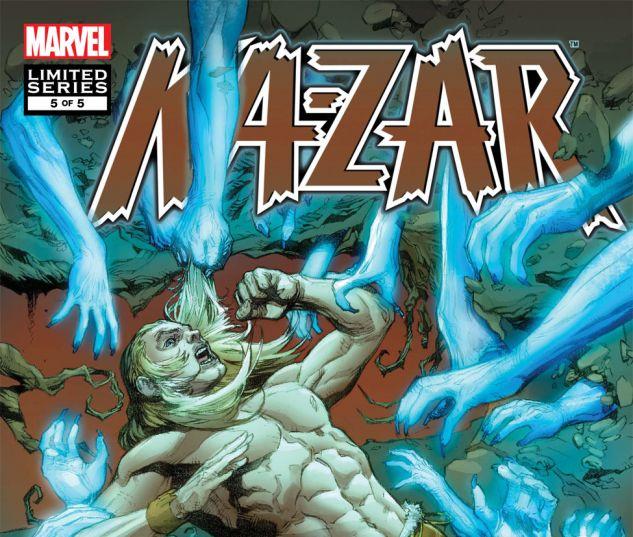 Ka-Zar: The Burning Season (2010) #5