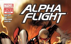 ALPHA FLIGHT (2011) #8 Cover