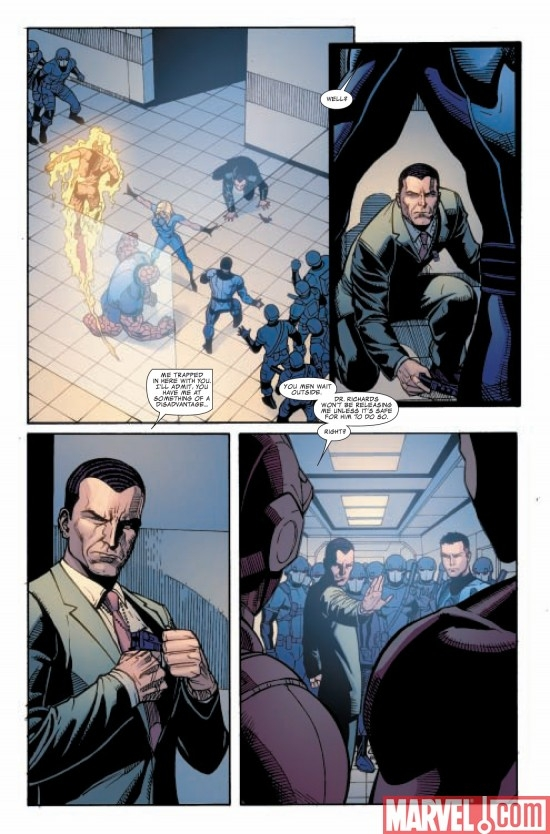 DARK REIGN: FANTASTIC FOUR #5, page 6