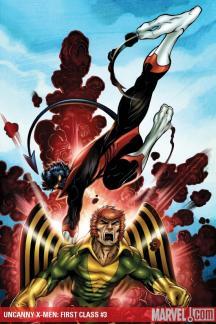 Uncanny X-Men: First Class #3