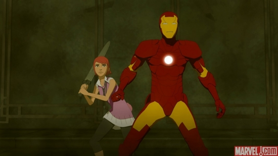 &quot;Iron Man: Armored Adventures&quot; Ep 9