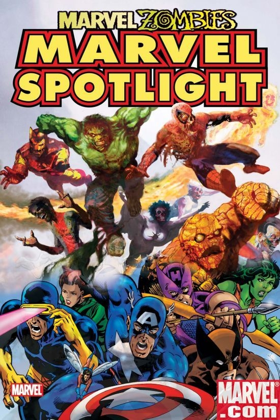 Marvel spotlight marvel zombies