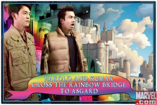 On the Rainbow Bridge to Asgard