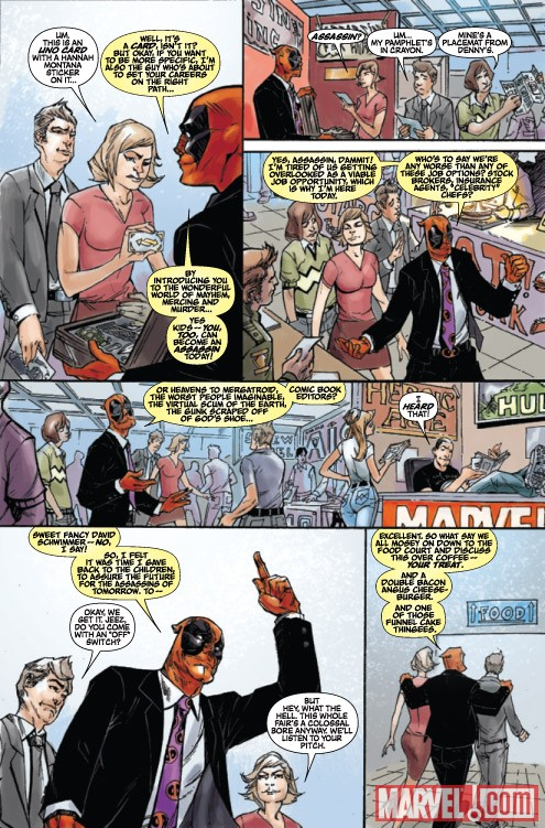 DEADPOOL TEAM-UP #891 preview art by Chris Staggs