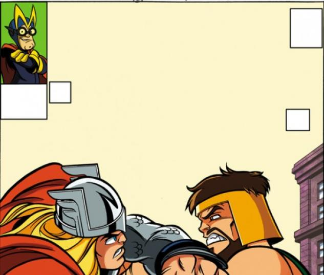 AVENGERS #5 SUPER HERO SQUAD VARIANT cover by Leonel Castellani