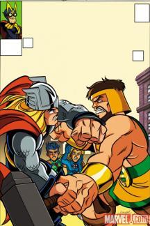 Avengers (2010) #5 (SHS VARIANT)