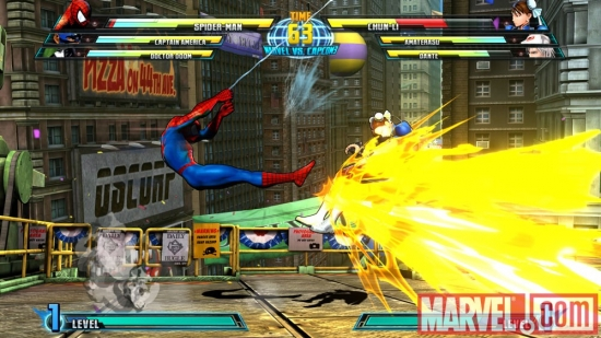 Spider-Man in Marvel vs. Capcom 3