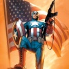 Cover From Ultimate Comics Captain America (2010) #1