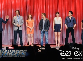 Marvel and The Avengers Assemble at D23 2011