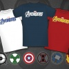 Marvel's The Avengers NYCC-Exclusive Shirts