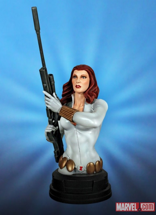 White Widow mini bust by Gentle Giant Ltd