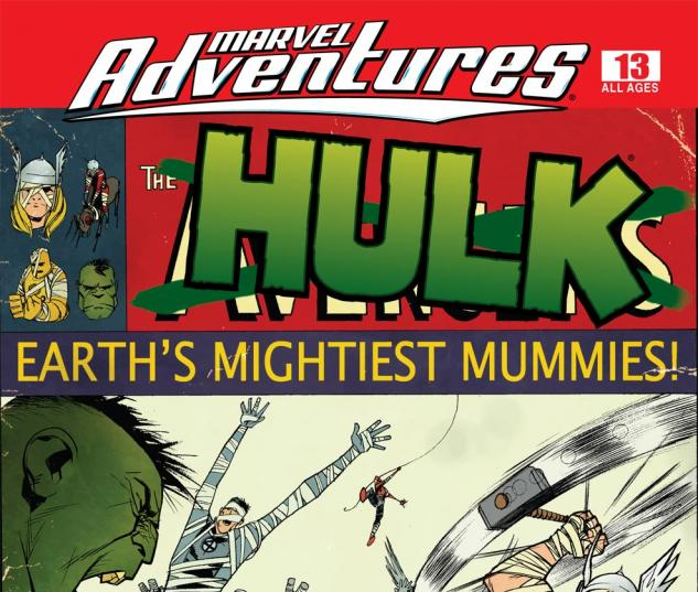 Marvel Adventures Hulk (2007) #13