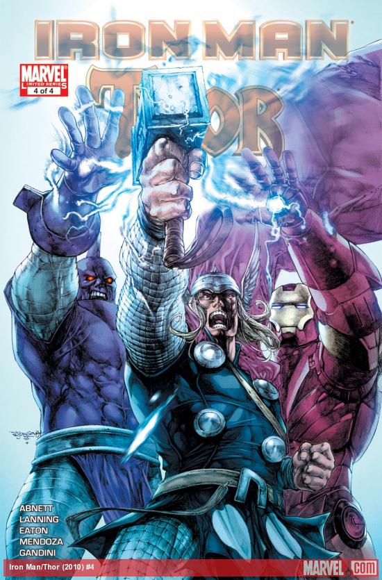 Iron Man/Thor (2010) #4