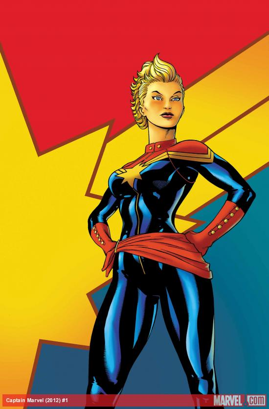 Captain Marvel #1 Cover