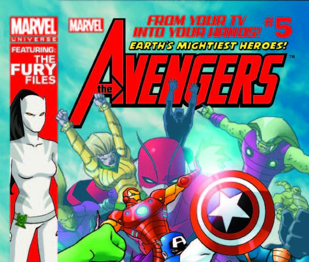 MARVEL UNIVERSE AVENGERS EARTH'S MIGHTIEST HEROES 5