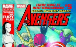 MARVEL UNIVERSE AVENGERS EARTH'S MIGHTIEST HEROES 5