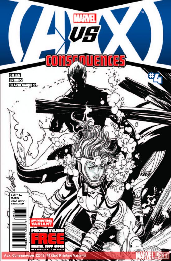 AVX: CONSEQUENCES 4 2ND PRINTING VARIANT (WITH DIGITAL CODE)