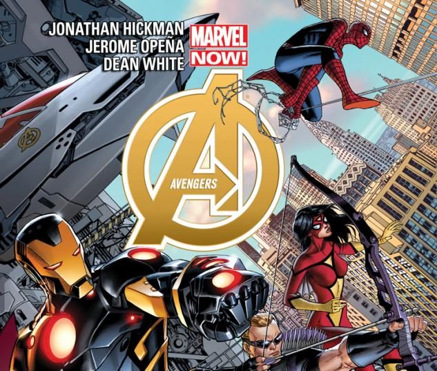 cover from Avengers (2012) #3