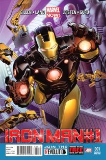 Iron Man (2012) #1 (2nd Printing)