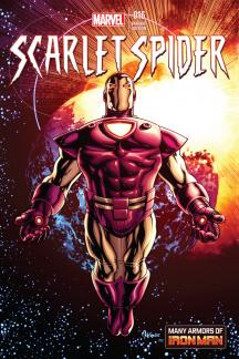 Scarlet Spider #16  (Mckone Iron Man Many Armors Variant)