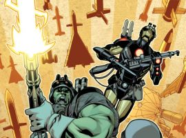 Indestructible Hulk Annual #1 cover by Mahmud Asrar