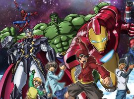 Become a Hero with Marvel Disk Wars
