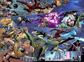Avengers & X-Men: Axis #7 preview art by Adam Kubert