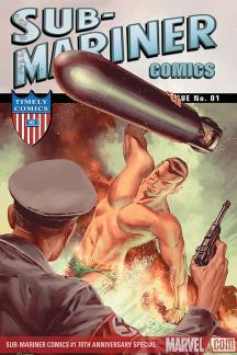Sub-Mariner Comics 70th Anniversary Special (2009) #1