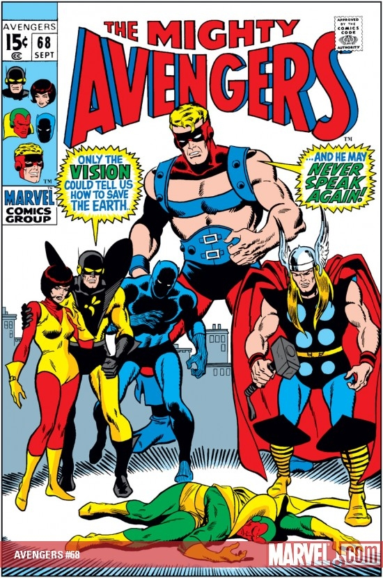 AVENGERS #68
