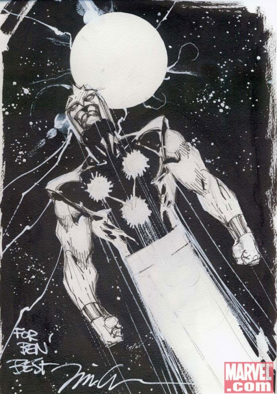 Nova by Jim Lee from Ben Morse's personal collection