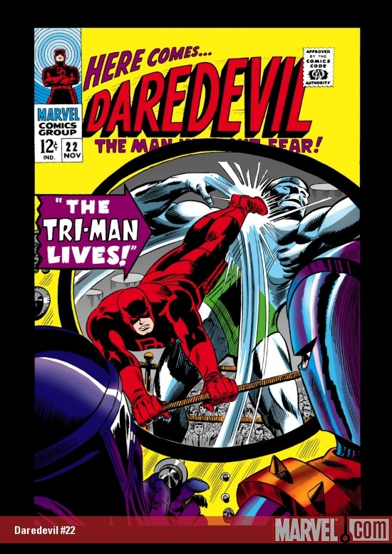 DAREDEVIL #22 COVER