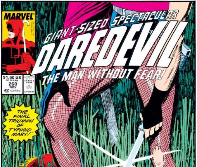 DAREDEVIL #260 COVER