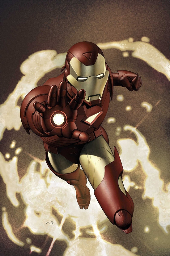 IRON MAN (2006) #4 COVER