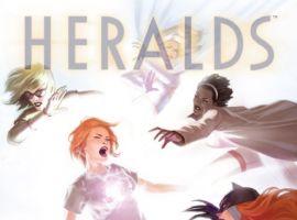 Heralds #2 cover by Jelena Kevic-Djurdjevic
