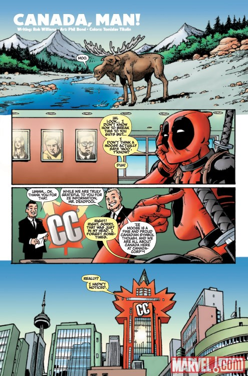 DEADPOOL #1000 preview art by Phil Bond