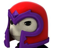 Magneto costume in LittleBigPlanet